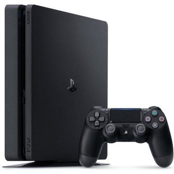 ps4 slim sony playstation video gaming console