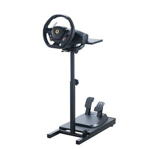 Pro Racer Steering Wheel Stand for use with Thrustmaster, XBox One, Logitech, PS4.(Steering Wheel & Pedals NOT INCLUDED) - FruitPaunch Gifts