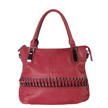 [Mother's Day] Tote Bag Women's Handbags Faux Leather Laced-Front Free Shipping - FruitPaunch Gifts