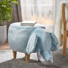 Elephant Ottoman Furniture Cute Kids Taupe/Blue/Pink Christopher Knight Home - FruitPaunch Gifts