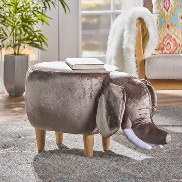 ottoman furniture elephant home decor kids