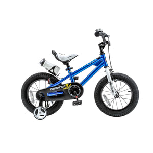 Kids Bike Bicycle Red/Blue/White/Pink 14-inch Training Wheels Fun Indoor Outdoor RoyalBaby BMX