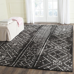 Area Rug 9' x 12' Black/Silver Adirondack Vintage Boho Safavieh Oriental  Home - FruitPaunch Gifts