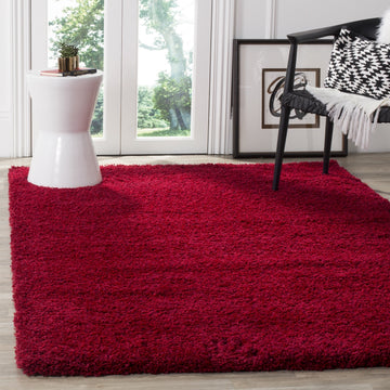area rug living room red shag home decor furnishing