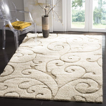 "Area Rugs 8'6"" x 12' Clay Alder Horton Mill Shag Scrollwork Elegance Cream/ Beige  Home - FruitPaunch Gifts"