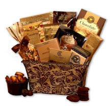 Gourmet Gift Basket Mother's Day Truffles Gourmet Coffee Toffee Savory Sophistication - FruitPaunch Gifts