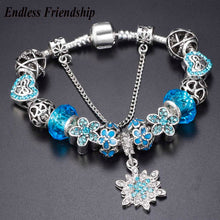 Charm Bracelets Jewelry Snowflakes/Butterfly/Love Women 18-21cm Many Colors - FruitPaunch Gifts