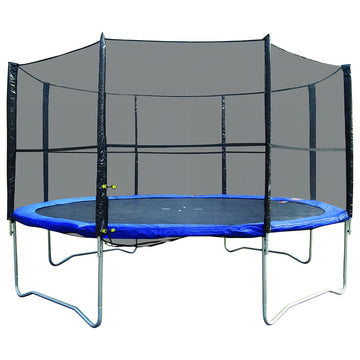 kids trampoline with safety net