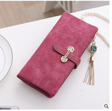 Long Rose Hot New Stylish Women Wallets | Female Fashion Long & Small Wallet w/Zipper | Women Short Coin Purse Holders, Retro Wallet and Purses | Many Colors