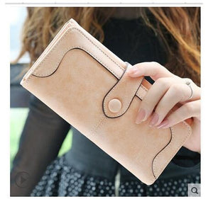 Pink Hot New Stylish Women Wallets | Female Fashion Long & Small Wallet w/Zipper | Women Short Coin Purse Holders, Retro Wallet and Purses | Many Colors
