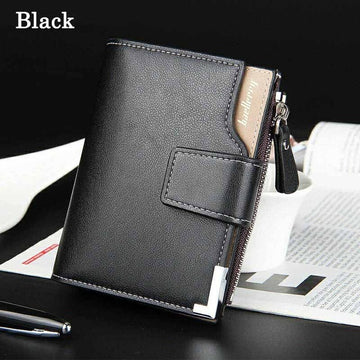 leather wallets men small money clip designer father's day gifts