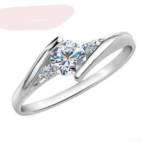 Engagement Rings Crystal Cubic Zirconia Women Size 4-10 Jewelry gifts - FruitPaunch Gifts