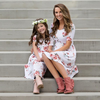 Mommy & Me Floral Midi Dress