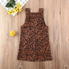 Lola Leopard Overall Dress - Abby Apples Boutique