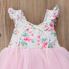 Floral Princess Tutu Dress - Abby Apples Boutique