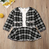 Tiffany Plaid Coat & Dress Set - Abby Apples Boutique
