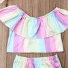 Mindy 2 Piece Rainbow Set