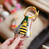 Girls Bumble Bee and Heart Cherry Sandals - Abby Apples Boutique