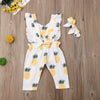Pineapple Romper - Abby Apples Boutique