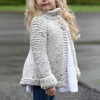 Leigha Grey Knit Cardigan Sweater - Abby Apples Boutique