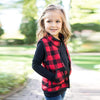 Page Plaid Fall Vest - Abby Apples Boutique
