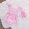 Pink Lace 2 Piece Onesie - Abby Apples Boutique