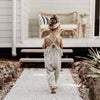 Kendra Linen Jumpsuit - Abby Apples Boutique