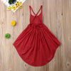 Caroline High Low Cotton Dress - Abby Apples Boutique