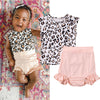 Pink Fierce Romper Set - Abby Apples Boutique