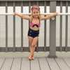Striped Sailor Swimsuit Set - Abby Apples Boutique