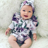 Violet Rose Romper Set - Abby Apples Boutique
