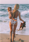 Mommy & Me Floral Bathing Suit