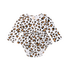 Betty Leopard Romper - Abby Apples Boutique