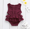 Larissa Sleeveless Tutu Romper - Abby Apples Boutique