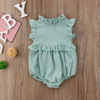 Kira Frill Romper - Abby Apples Boutique