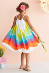 Paige Colorful Beach Sundress - Abby Apples Boutique