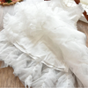 Cecelia Ruffle Tulle Dress - Abby Apples Boutique