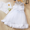 3D Flower Tulle Dress - Abby Apples Boutique