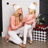 Mom & Me Keyhole Sweater - Abby Apples Boutique