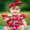 Baby Watermelon Romper - Abby Apples Boutique