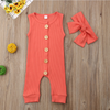Karley Button Onesie - Abby Apples Boutique