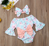 Oliva Floral Bow Romper