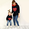 Mommy & Me Sequin Heart Hoodie