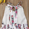 Carolina Laced Back Floral Dress - Abby Apples Boutique