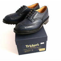 Bourton Navy Brogue