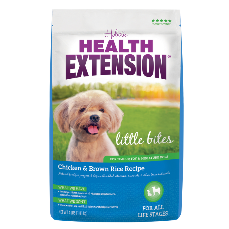 Health Extension Little Bites Chicken and Brown Rice Dry Dog Food