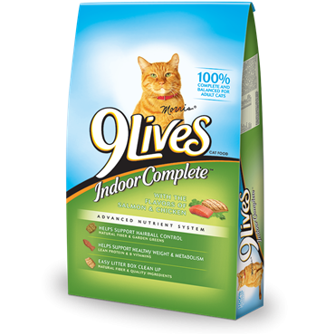 9 Lives Indoor Complete Dry Cat Food