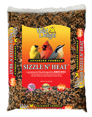 Wild Delight Sizzle N' Heat Wild Bird Food 5 lbs.