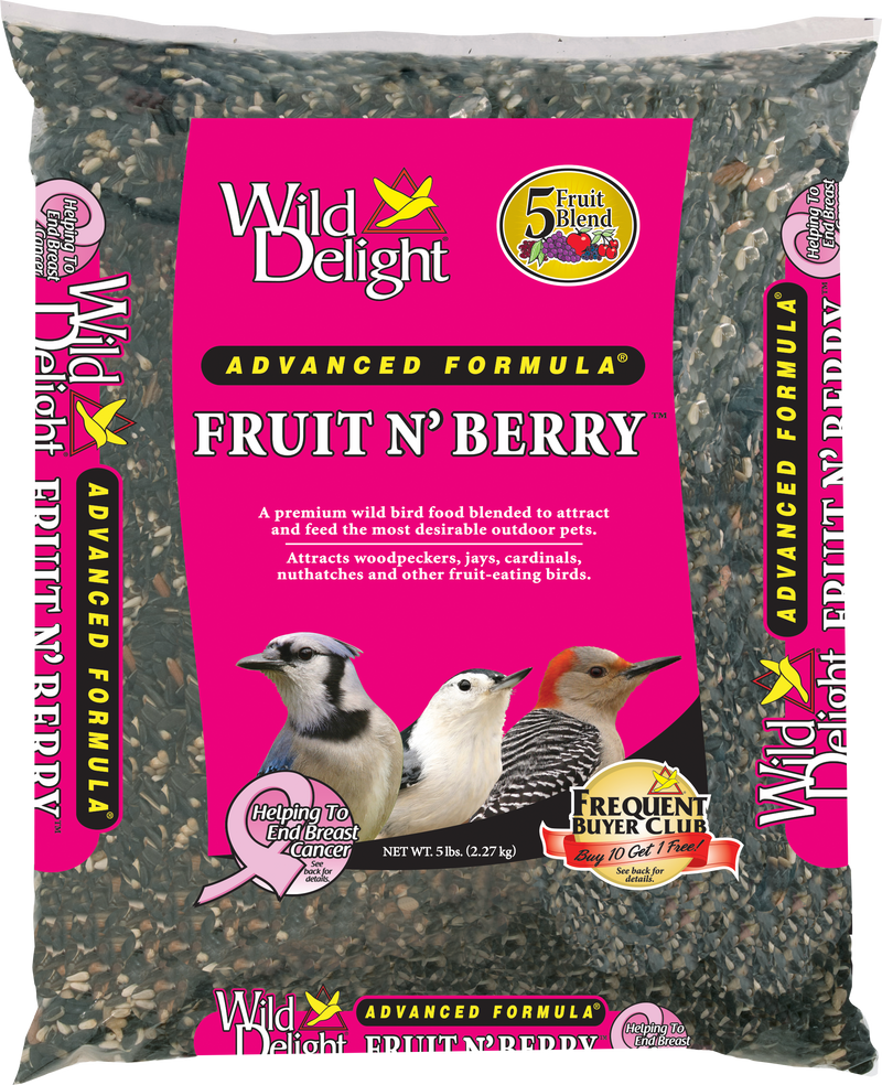 Wild Delight Fruit and Berry Wild Bird Food