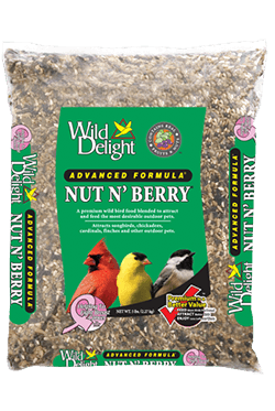 Wild Delight Nut & Berry Wild Bird Food 20 lbs.